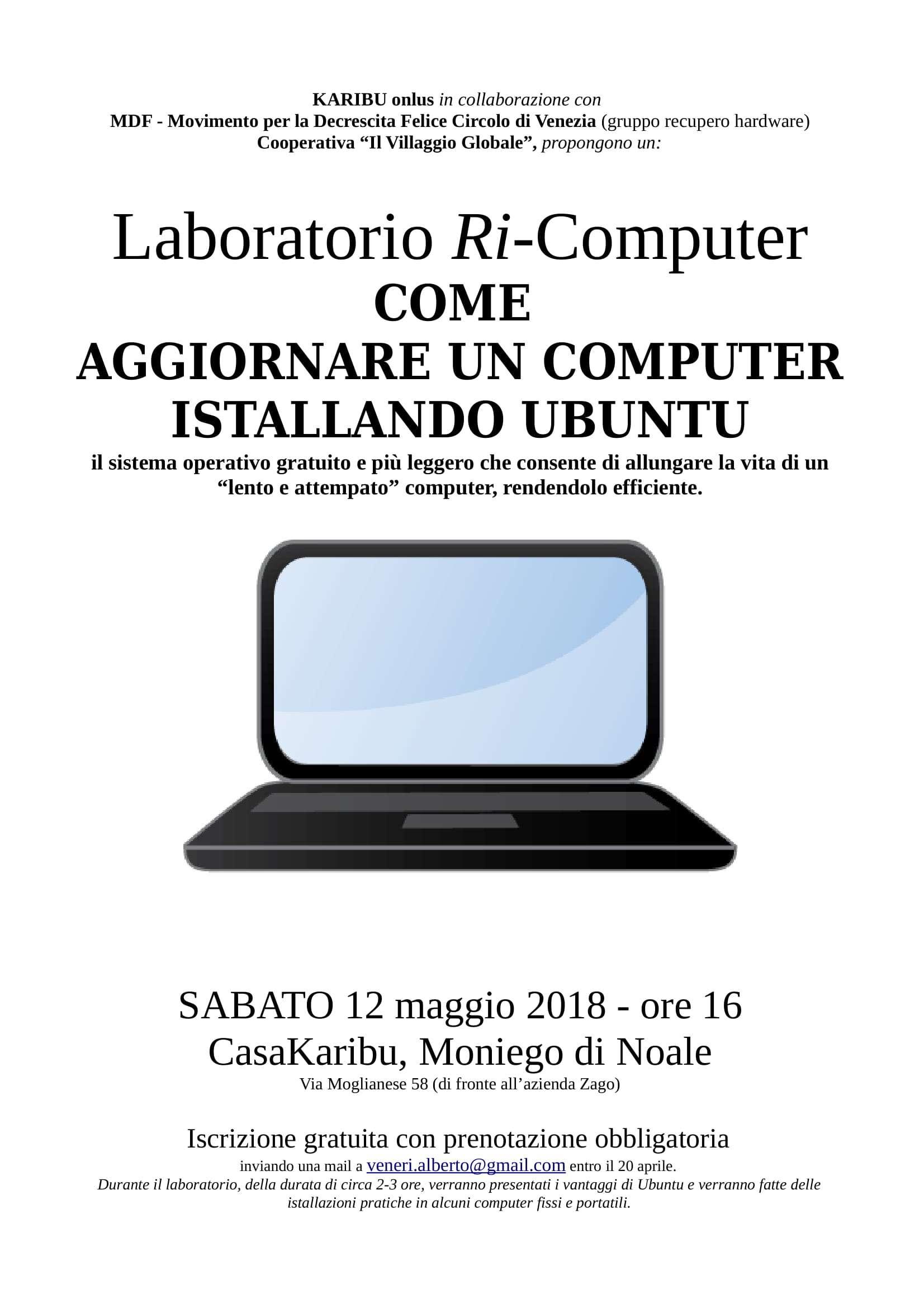 Laboratorio Ri Computer Come Aggiornare Un Computer Istallando